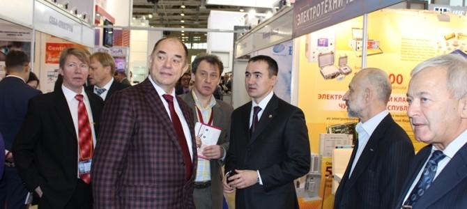 В Москве состоялось открытие выставки «Электрические Сети России – 2014»