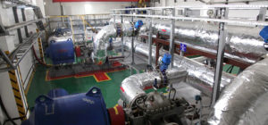 Upgraded major pumping station Chita