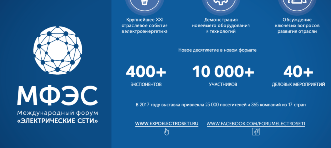 Министр энергетики Александр Новак открыл Международный форум «Электрические сети»